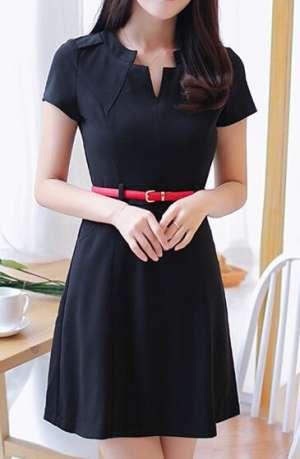 A字型连衣裙