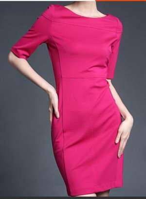 多分割连衣裙